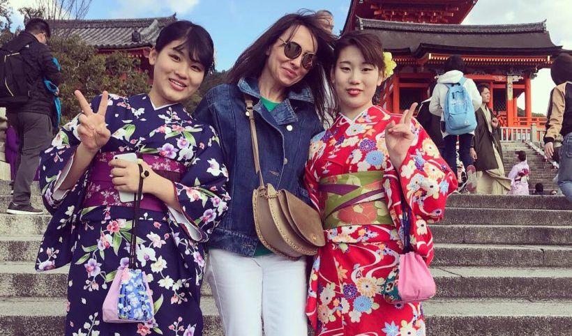 zapisy stylistki z podróży po japonii