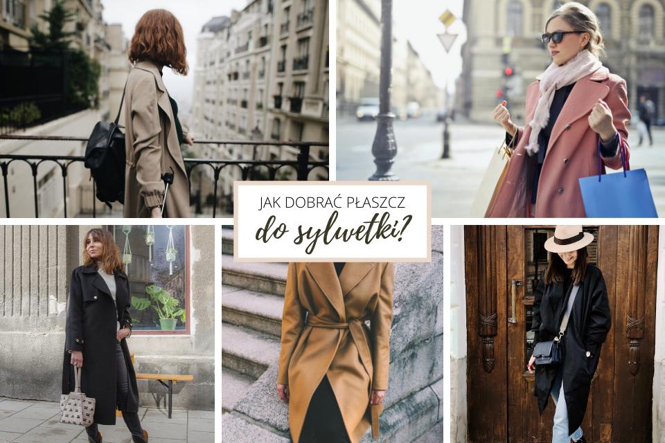 Jak dobrać płaszcz damski do typu sylwetki - porady stylistki